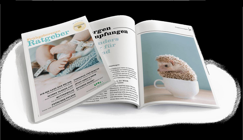 Frühgeborenen Ratgeber, das Magazin für Eltern von Frühchen